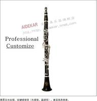VECKY c-100 Clarinet black Ebony silver plated key design from Buffet Professional level