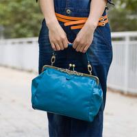 Women Messenger Bags Genuine Leather Handbag Brand Shoulder Bag 2014 New Desigual Handbags Fashion Vintage Bag WB3051