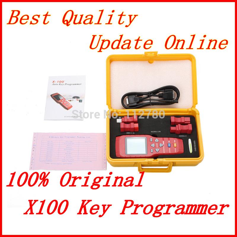 ?ltimo Original X -100 + X100 Além disso Auto-chave Programador X 100 Atualiza??o Online DHL frete grátis para todo o mundo(China (Mainland))