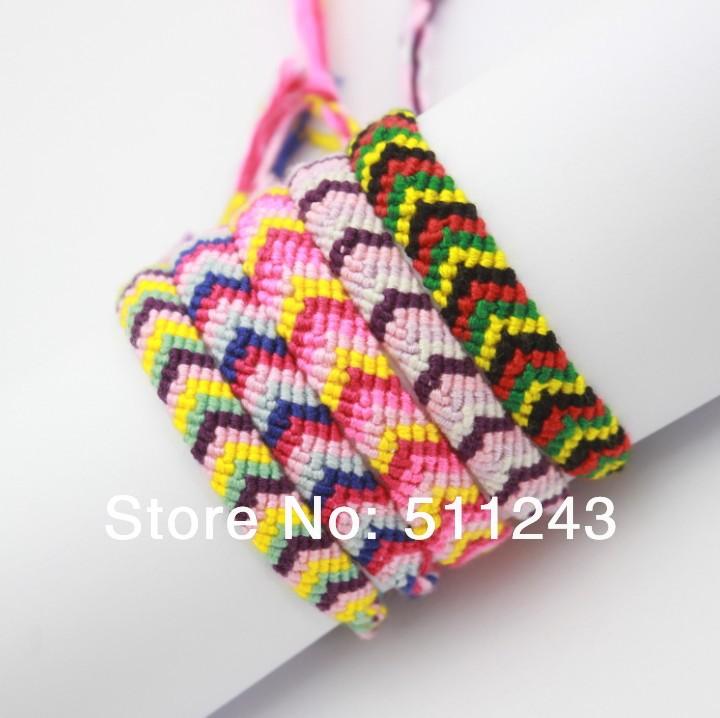 Handmade Braided Cord Brazilian Style bali friendship bracelet(China (Mainland))