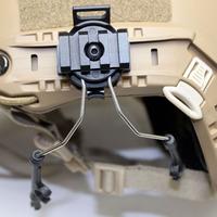 Z-tactical Helmet Headset Communication Peltor W/ Rail Adapter Z046 For Comtac I And Comtac II BK/OD