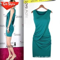 2014 new summer women dress dress with European stylish 2999 for women