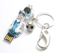 8gb Jewerly Football Shoes Thumb Sticks 16GB Metal Keychain USB Flash Drive 32GB Disk Memory Flash 4GB Full Capacity!