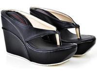 Plus Size 33-45 New 2014 Women Wedges Sandals Summer Elegant Platform High-Heeled Open Toe Sandal Slippers Gladiator Shoe Hot 3