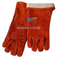 Leather Work Gloves TIG MIG Gloves Split Cow Leather Welding Gloves