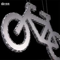 free shipping Led crystal pendant light ktv crystal lamp living room decoration lighting 81059