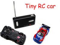 Free Shipping 2014 new mini RC Racing Car 4CH 1:64 Radio Car Remote Control mini Race RC Electric Car Drift Racer 50