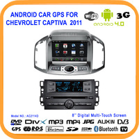 "8""HD Touch screen 3G WIFI  Android 4.0 Car DVD radio player for Chevrolet Captiva 2012-2014 GPS Navigation Bluetooth Free 8GBMap"