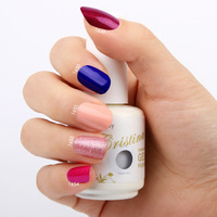 New 6pcs Crisnail UV Gel Nail Polish 201Colors 15ml 0.5oz (You Choose 6 Colors) Free Shipping