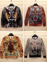 3D Print Animal Sweater Print Hoodies 3D Sweatshirt