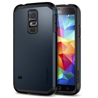 Genuine SGP Tough Armor Case for Samsung Galaxy S5 Original Spigen SGP EXTREME Protection Shell Phone Bags Cases