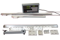 (Package sales) 2 pieces of Linear scale DC10 measuring from (50-500mm) +1piece of 2axis Digital Readout (DRO)
