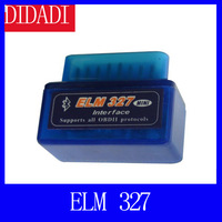 Free shipping Latest version super mini EML327 bluetooth OBD2 Scanner Bluetooth Smart Car Diagnostic Interface ELM 327 V2.1 Scan