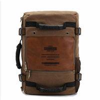 Ophira Fashion 2014 Autumn New Men's Canvas Backpack, mens travel bags 2014 Outono masculino tela mochila IF 159 free shipping