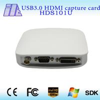 on sale high quality all-in-one HDMI,VGA,YPBPR,3G-SDI,DVI) Usb Capture video hdmi  HDS101U