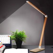 Foldable Metal Reading 4W 48 Dimmer Bright-LEDs Desk Lamp Table Lighting Toughened Glass Base Power Night Vision Led Lamp AC220V(China (Mainland))