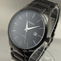Curren Fashion Sports Men Quartz Watches All Steel Silver Black Steel Watches