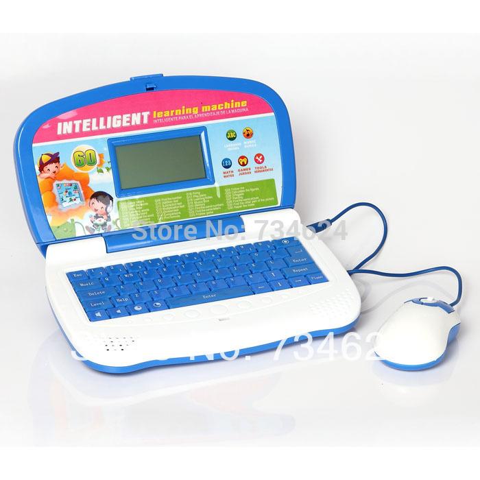 Spainish Language Education Learning ,Laptop Learning Machine for kid,66116ES(China (Mainland))