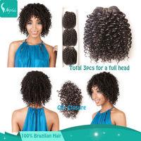 Brazilian curly weave deep curly virgin hair cheap human hair bundles 8'' 3pcs lot with 1pc top closure 5a virgin hair extension