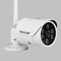 1.0 Megapixels 720P HD Lens 3.6mm Wifi Wireless H.264 PNP Outdoor Weatherproof IR Cut Night Vision Security Network IP Camera