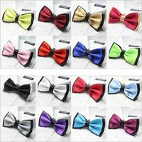 Gentleman series,trendy double jacquard  neck ties bow ties men bow tie knots retail cravat ascot neckties neckwear butterflies