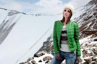 FY Women's  Short Jacket O-Neck Long Sleeve  Warm Coat Zipper Up S/M/L/XL Multi-Color WC89