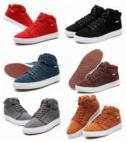 2014 unisex casual solid autumn boot palladium nubuck leather shoes size 35--44