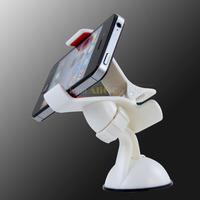 2PCS universal sucker car phone holder stand stretch 90mm GPS accessories