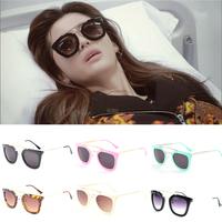 Brand New 2014 Women Sunglasses Black Fashion Designer Glasses For Girls Accessories Drop Shopping