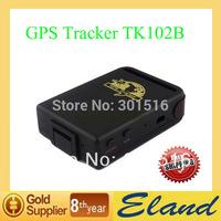 Mini TK102B GPS Tracker GSM GPRS GPS Personal GPS Tracking System Free Shipping