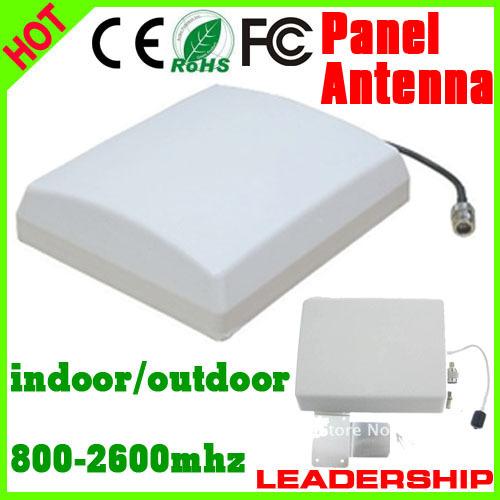 5pcs/lot Outdoor Panel Antenna 9dBi 800mhz-2500MHz GSM 3G WIFI DCS WCDMA UMTS cell phone booster antenna 3G antenna(China (Mainland))