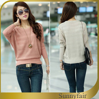 2014 Women Fashion Sweater Spring Casual Sweaters Hot Sale Women Long Sleeve Sweater Free Shipping