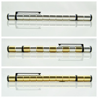 20 pcs Polar Pen Magnetic Pen / Modular pen made from MAGNETS Magic gift (Silver and Gold )