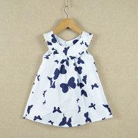 Hu sunshine Retail new 2014 1 pcs Children's clothing summer Next Retail high-quality 100% cotton girl's dress children clothes