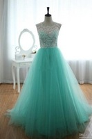 Lace Tulle Wedding Dress Prom Ball Gown Blue Tulle Dress Turquoise Sweetheart Dresses