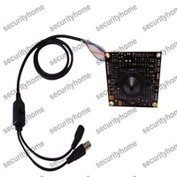 Mini Sony Effio-V 750TVL WDR OSD 3.7mm Pinhole PCB security CCTV camera Good for FPV
