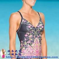 Cup swimwear new arrival 2013 women's swimwear i split swimwear design small vest