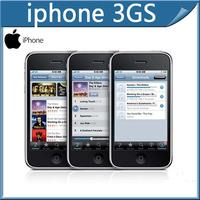 "Refurbished Original Factory Unlocked iPhone 3GS16/32GB,3G WCDMA 3.5""capacitive screen GPS SIM free,Free shipping"