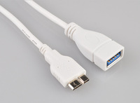 Micro-USB 9pin to USB OTG Adapter Cable Flash Disk Cord for Samsung GALAXY Note III 3 SM-N9000 SM N9000 N9005