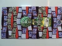 wax printed,super wax fabrics and hollandais ,textile ,F14310 real wax printing batik