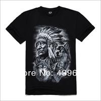 2014 men's clothing new arrival short-sleeve T-shirt male 3 3d short-sleeve T-shirt basic shirt