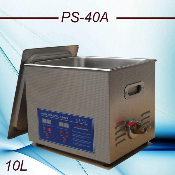 Globe AC110/220 digital Ultrasonic cleaner 10L PS-40A digital timer & heater control hardware parts(China (Mainland))