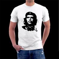 Head portrait  che guevara lovers t shirt 100% cotton short-sleeve men T-shirt Liberation Commemorative tshirt drop shipping