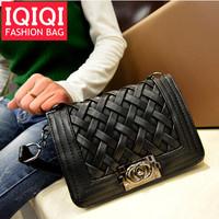 The new 2014 European and American women handbag fashion mini smiley bag Small mini bag hardware