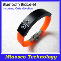 Free Shipping Silicone Bluetooth Wristband, Vibrating Bluetooth Bracelet.