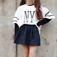 New 2014 Korean  BF baseball bat sleeve Loosing  T-shirt  women clothing roupas femininas Free shipping