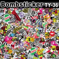 Sticker Bomb Vinyl Sheet Vinyl film Best for Graffiti Crazy Design /Size: 1.5 x 30 Meter Air Free/Bubble Free Vinyl
