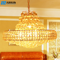 free shipping Traditional crystal pendant light quality crystal lamp living room lights hall pendant light lamps