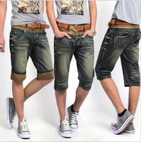 new 2014 summer high quality men Denim Shorts men's Jeans Shorts Hot Sale men short Pants casual denim pant WNWK-0499