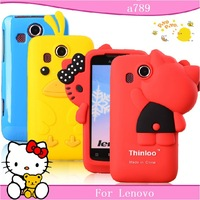 Free shopping for Lenovo a789 case mobile phone case for lenovo a789 protective case cell phone case silica gel set